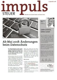 Kundenmagazin - Impuls Q1-2017 - cSt causa